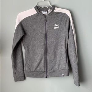 Puma Athletic Zip Up Jacket